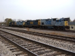 CSX 1520, 2557, 1504 & 1509